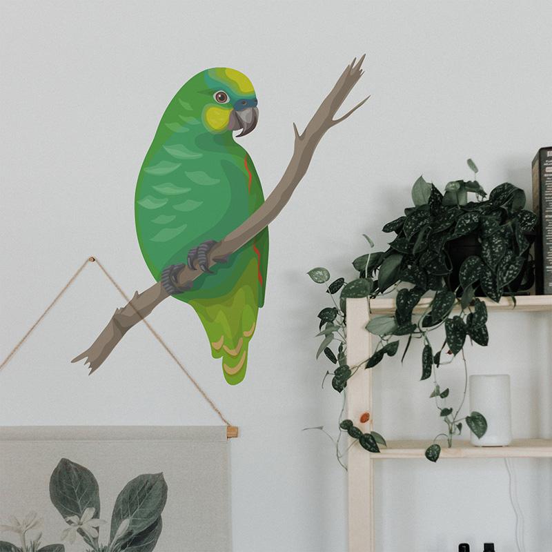Naklejka Papuzi czar