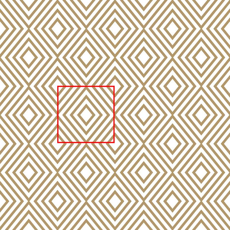 Tapeta Geometryczna harmonia